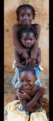 BURKINA FASO (BoazImages) Tags: africa girls cute girl smile childhood smiling children documentary happiness westafrica ouagadougou burkinafaso burkinabe boazimages streetvibe