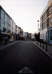 Portobello (niall patterson) Tags: blackandwhite london film canon edinburgh londoneye fosters patterson niall t70