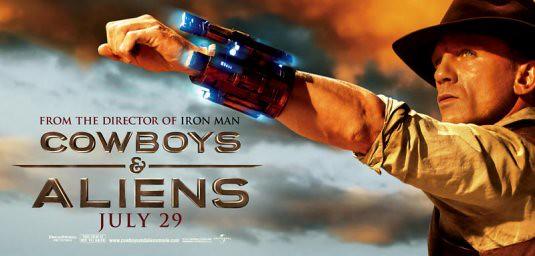 Filme Cowboys & Aliens Capa Poster 77 - Ação Bons Filmes Online