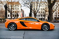 MP4-12C (Keno Zache) Tags: new orange photography power profile mclaren rims düsseldorf königsallee sportcar keno zache mp412c