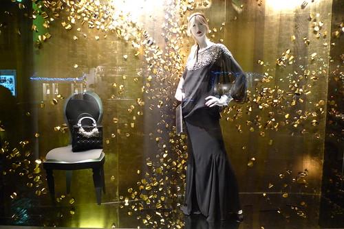 Vitrines Dior, Paris, décembre 2011