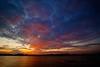 Colores del atardecer (Jose Casielles) Tags: atardecer agua colores cielo nubes puestadesol laguna yecla fotografíasjcasielles