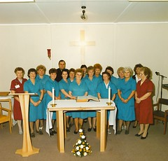 63 Chapel West Wing, Manor, Housekeeping Staff -date (Voices Through Corridors) Tags: chapel staff manorhospital