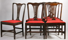 57. Set of (6) Dining Chairs