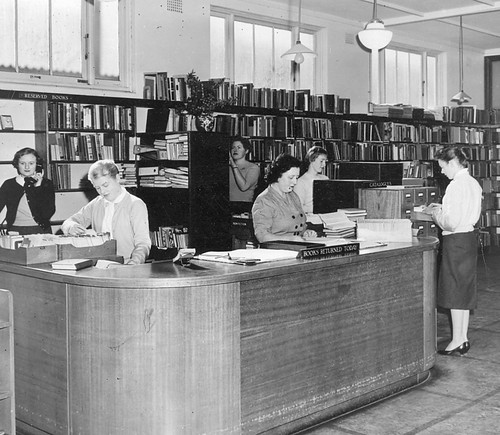 Gosford Library staff, June 1958