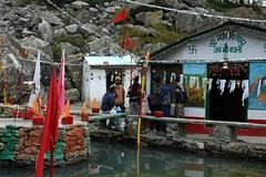 Back to Kalapani Temple (Saumil U. Shah) Tags: india mountain mountains nature bells trekking trek temple nikon hiking kali hike journey himalaya spiritual shiva hindu hinduism kailash yatra jain pilgrimage himalayas ganga shah mansarovar manasarovar jainism kailas   saumil kmy incredibleindia kalapani kaliganga   kmyatra saumilshah