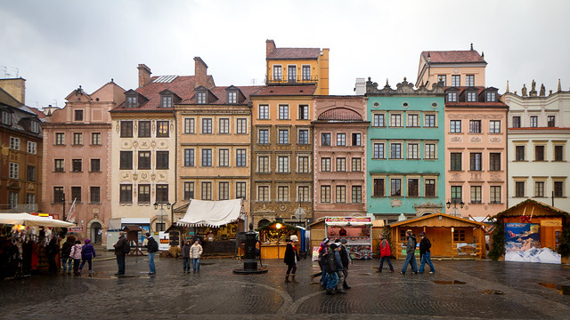 Warsaw Old Market Place