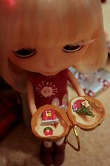 Miniature walnut world.
