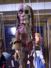Skeleton marionette (Breakfast of Champions, 1980) Tags: marionette prahapragueczech