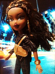 Step Out Sasha just Arrived! (Bratz Guy) Tags: girls fashion dolls sasha accessories mga shadi bratz stepout bratzparty