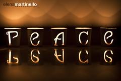 Peace (Elena Martinello) Tags: christmas xmas light dark candles peace gettyimagesitalyq1 gettyimagesitalyq2 gettyimagesitalyq3