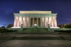 Lincoln Memorial HDR (Brandon Kopp) Tags: statue night washingtondc dc nikon memorial tokina hdr d300 photomatix 1116mm