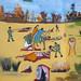 Civil War Fresco In War Memorial Museum, Hargeisa Somaliland