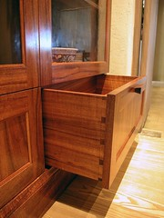 MacNaughton Koa Display Dovetailed Drawers
