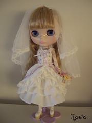 My beautiful bride, Maria ***