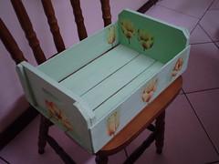 caixote verde (iza-vidya artesanato) Tags: reciclagem decoupage caixotes