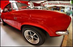 Red Hot (Mark-Cooper-Photography) Tags: red hot classic car museum canon vintage australia victoria fisheye national vic motor 8mm rare holden torana gtr xu1 550d rokinon t2i gtrxu1 eos550d markcooperphotography