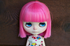 The everchanging face of Pixi (prettyinthekitchen) Tags: doll guava blythe custom rbl suckylip