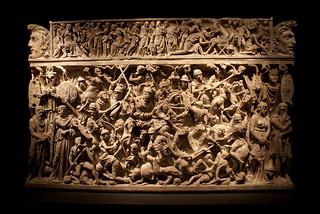 Sarcofago di Portonaccio Museo Nazionale Romano - Palazzo Massimo/ Roma