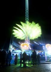 A r o u n d   T h e   W o r l d   3 (ƇĦŘĺς ΛΨŁЩΛŘĐ ƤĦŎŦŎƓƦΛƤĦϔ) Tags: world winter wales lights long exposure ride south cardiff around wonderland coaster hdcymru