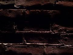 Brickwork Detail (2) (mark-vauxhall) Tags: cameraphone lighting cambridge light detail brick mobile closeup bar dark ma shadows phone massachusetts low bricks cell mortar ave mass dim avenue brickwork 02139