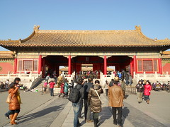 January 1-2 170 (MinnesotaSon) Tags: crowd beijing forbiddencity palacemuseum gateofheavenlypurity