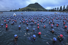 Port of Tauranga Half Ironman 2012 - (Nick Caro - Photography) Tags: sports bike sport swim run ironman nz triathlon tauranga halfironman dufty