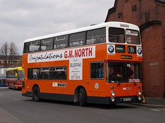 SND 508X  1982  Leyland Atlantean AN68B/Northern Counties  GM Buses 4508 (wheelsnwings2007/Mike) Tags: street buses museum manchester 1982 gm hill transport 25 boyle leyland snd counties deregulation cheetham 4508 atlantean 508x an68bnorthern