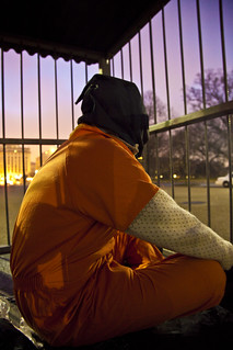 Witness Against Torture: 96-Hour Cage Vigil Sunrise