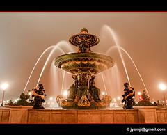 Place de la Concorde 8323 (Hatuey Photographies) Tags: paris france night fontaine nuit placedelaconcorde parisbynight hatueyphotographies ©hatueyphotographies