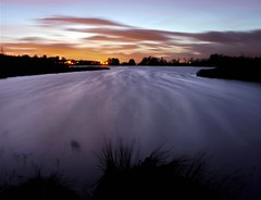 Wild is the wind (kenny barker) Tags: longexposure winter sunset motion nature water night landscape lumix motionblur loch lochan saariysqualitypictures panasonicgf1 kennybarker