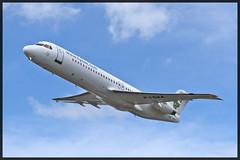 DAE - Dutch Antilles Express Fokker 100 PJ-DAA (Emtewee Photography) Tags: cruise beach princess f100 cruiseship caribbean 100 express royalcaribbean maho sxm antilles fokker karibik tncm mahobeach freedomoftheseas julianadaedutch