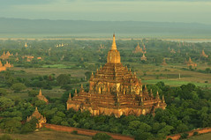 Bagan in the Morning, Myanmar_HXT1501 (ohmytrip) Tags: morning sky sunlight mountain tree history horizontal fog architecture sunrise outdoors temple photography pagoda ancient shrine day religion tranquility buddhism nopeople tourist spire valley remote myanmar ancientcivilization bagan distant placeofworship traveldestinations colorimage beautyinnature nonurbanscene horizonoverland builtstructure incidentalpeople traditionallymyanmarian