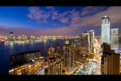 One World Trade Center January 2012 Progress Shot (RBudhu) Tags: newyorkcity skyline construction financialdistrict wtc gothamist westsidehighway worldfinancialcenter lowermanhattan newyorkcityskyline oneworldtradecenter wtcprogress fourworldtradecenter