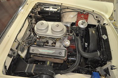 """1957 Ford Thunderbird E Code Dual Quad 312 • <a style=""""font-size:0.8em;"""" href=""""http://www.flickr.com/photos/85572005@N00/6703697405/"""" target=""""_blank"""">View on Flickr</a>"""