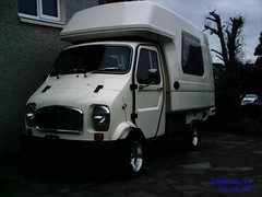 Jiffy Camper (Rivieraphoto) Tags: up truck tipper mini lorry eddie register pick camper jiffy based stobart romahome
