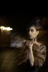 Nocturne (silvia pasquetto) Tags: light portrait woman fashion night nocturne silviapasquetto