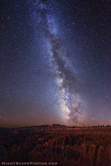 "Milky Way stars over Bryce Canyon (IronRodArt - Royce Bair (""Star Sho"