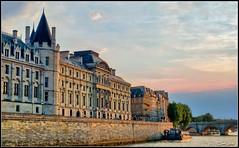 Sunset on the Seine, Paris (Mustang Joe) Tags: sunset paris seine sns hdr topaz adjust nikcolorefexpro nikviveza