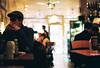 (Twiggy Tu) Tags: uk trip portrait england london film restaurant stranger panini breakfasttime 2011 contaxrx