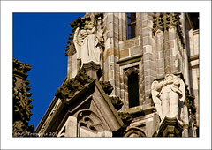 Calling an angel ..... (Marjo1963) Tags: netherlands angel handy call cathedral telephone engel shertogenbosch stjan bellen 012012