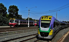 The 1023am Wendouree to Southern Cross Vlocity at Bacchus Marsh Vic (Rodney S300) Tags: 1127 bacchusmarsh vlp