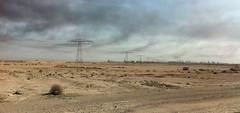 Electricity Pylons, Basrah, Iraq