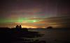 Rays of Light (Chee Seong) Tags: uk winter light storm reflection water canon coast scotland aurora rays northberwick bassrock northernlight geomagnetic canon24mmf14 5dm2