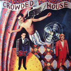 Crowded House (epiclectic) Tags: music art vintage spread album vinyl retro collection jacket cover lp record 1986 sleeve vulnerable crowdedhouse withopenarms epiclectic