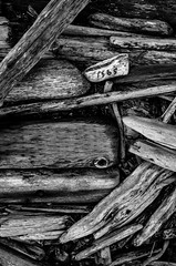 1565 (Damon D. Edwards Photography) Tags: wood blackandwhite bw blackwhite washington nikon debris driftwood wa weathered nautical float sequimwa blackwhitephotos d7000