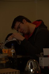 IMG_4375 (dvanzuijlekom) Tags: arnhem january thenetherlands 2012 clubmate aequitas koningsweg hackerspace canoneos7d hack42 tamron18270mmf3563diiivcpzd hacktiviteit kkn6