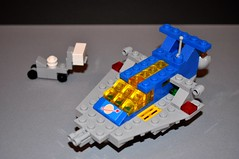 With Forklift (Doctor Mobius) Tags: lego micro 1978 ll924 classicspace microclassicspace