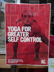 YOGA FOR GREATER SELFCONTROL (Posters in Amsterdam by Jarr Geerligs) Tags: school amsterdam yoga poster design graphics carteles plakate affiche lotte jarr kesselskramer geerligs wwwpostersinamsterdamcom postersinamsterdam postersinams 222page13 takenin2012 l112065024