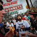 Thousands decended upton the Krispy Kreme on Peace Street Saturday.